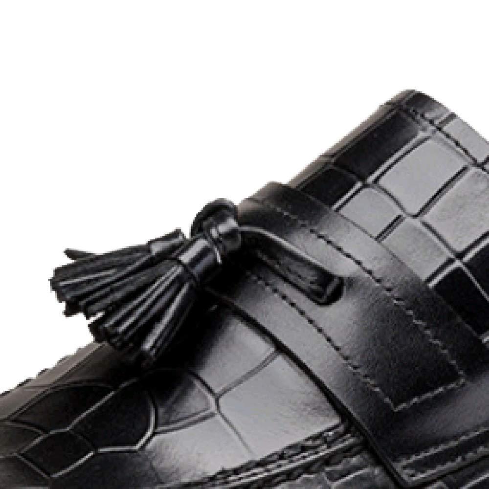 ZQZQ Kleid Fashion Herrenschuhe England Wearable Rutschfeste Fashion Kleid ROTwine fff510