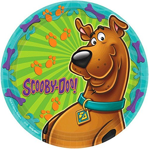 Round Plates | Scooby-Doo Collection | Party Accessory