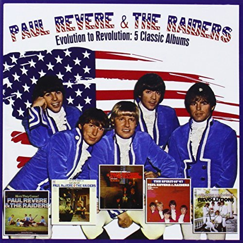 Price comparison product image Evolution To Revolution: 5 Classic Albums by Paul Revere & The Raiders