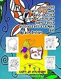 papillons 20 cartes de voeux dans un livre livre de coloriage super facile dessins faits ? la main par grace divine french edition