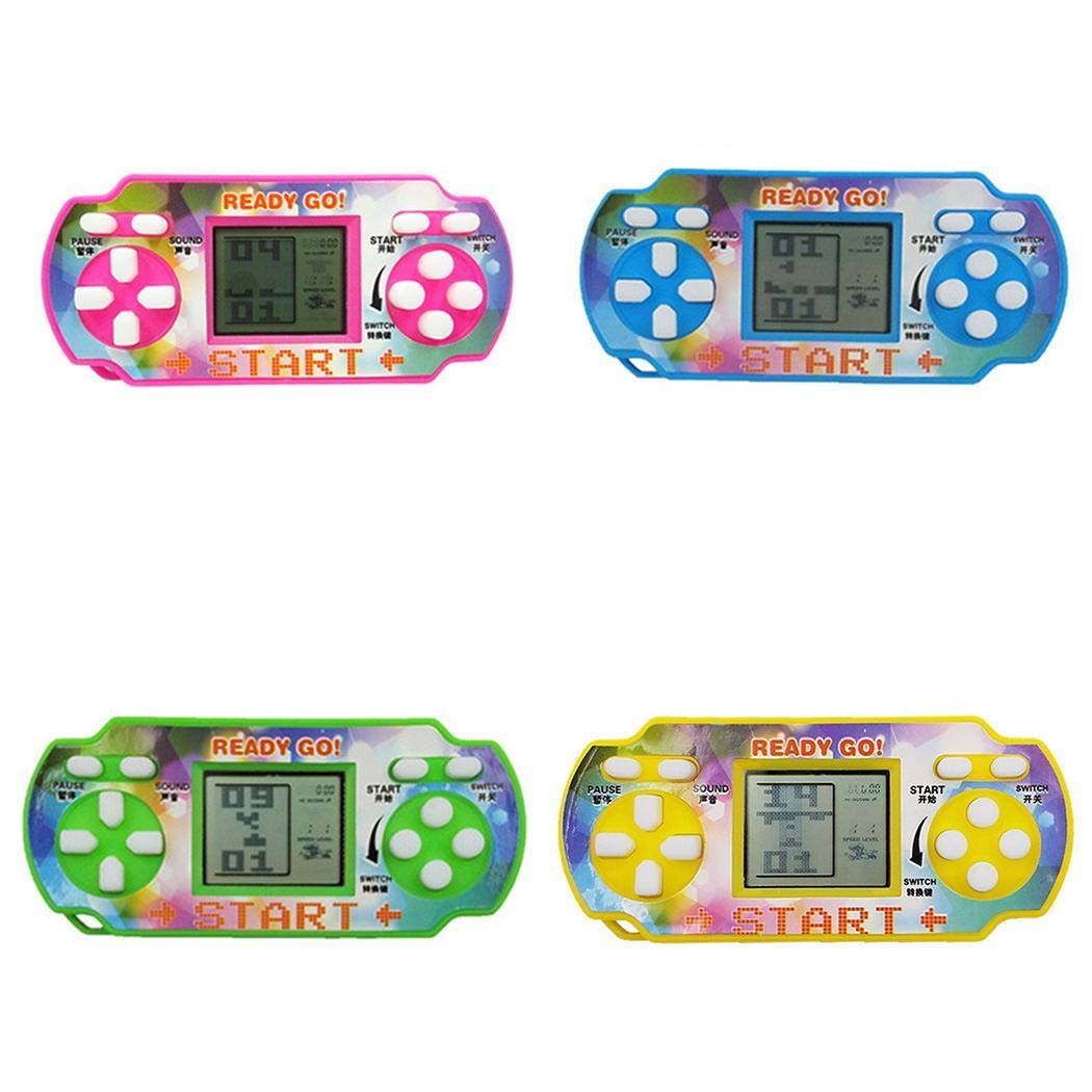 Penpos Classic Tetris Game Console Handheld Game, Mini Game Console, Electronic Game Console, Good Gift for Kids 9 x 4 x 4cm (Random Color) by Penpos (Image #3)
