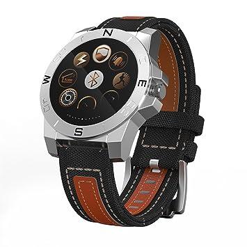 worldtopcoo a prueba de sudor Smart relojes/Smart Fitness pulseras Smartwatch/Reloj inteligente/