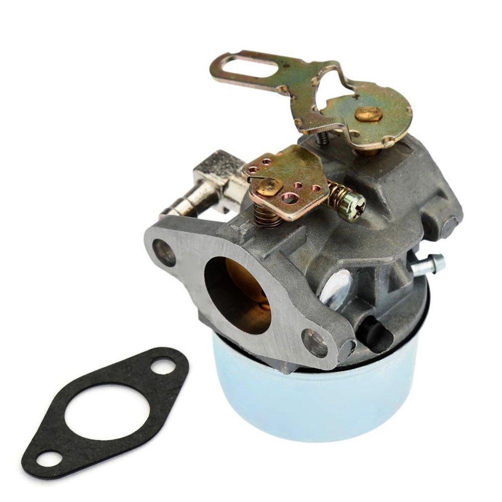 Carburetor for Tecumseh 632107A 632107 640084B 640084A TORO 521 SnowBlower HSK40, HSK50,HS50 LH195SP - Tecumseh 632107 Carb With Gasket by Fuerdi