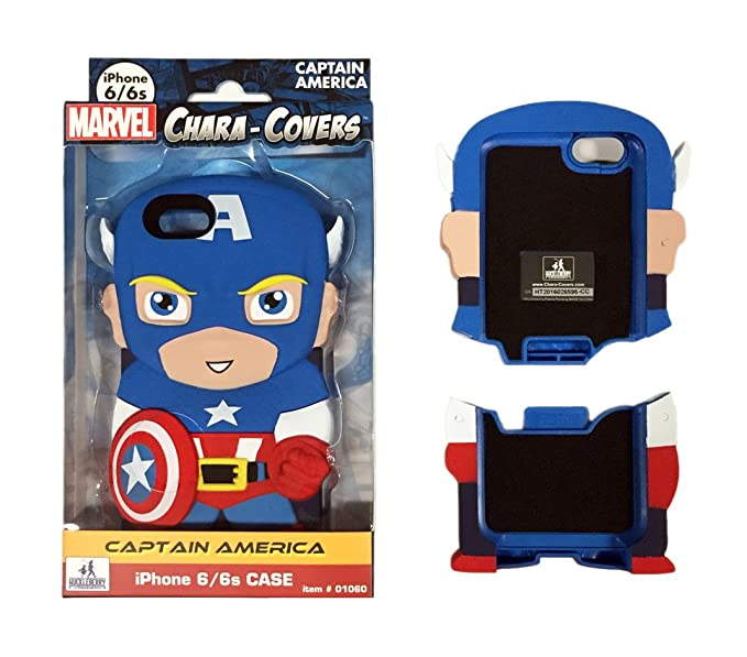 Captain America Chara-Covers iPhone 6 and 6S Cell Phone Case