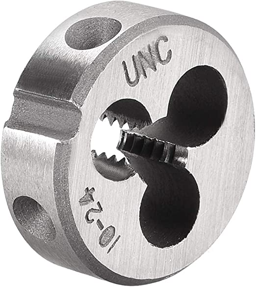Interstate New 8-32 Round Threading  Die Adjustable