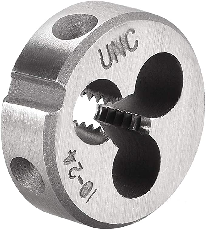 10-24 NC Century Drill /& Tool 96104 High Carbon Steel Fractional Hexagon Die