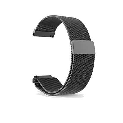 Amazon.com: Budesi 22mm Quick Release Smartwatch Soft ...