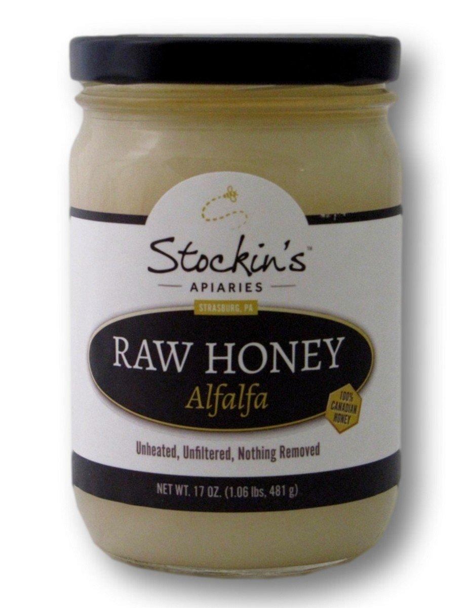 Amazon.com : Stockin\u0027s Unheated and Unfiltered Raw Alfalfa Honey ...