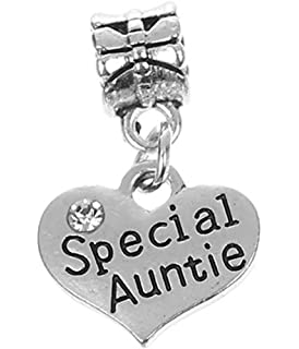 ac3363948 official special auntie pendant charm for charm bracelets with gift box  womens jewellery. a8527 2d8c5