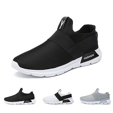 Bravover Herren Laufschuhe Sneakers Turnschuhe Freizeit Schnürer Gym Atmungsaktiv Sportschuhe Laufschuhe Sportschuhe Flats Runners Sneaker Sport Turnschuhe 2pmLxrub