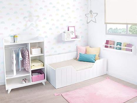 Bainba Cama Infantil Montessori Nao (190, 90): Amazon.es ...