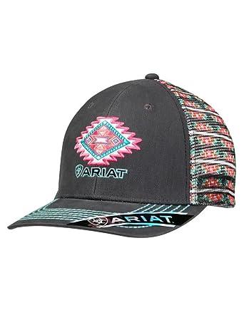 Ariat Women s Snap Back Baseball Cap 076fd658096