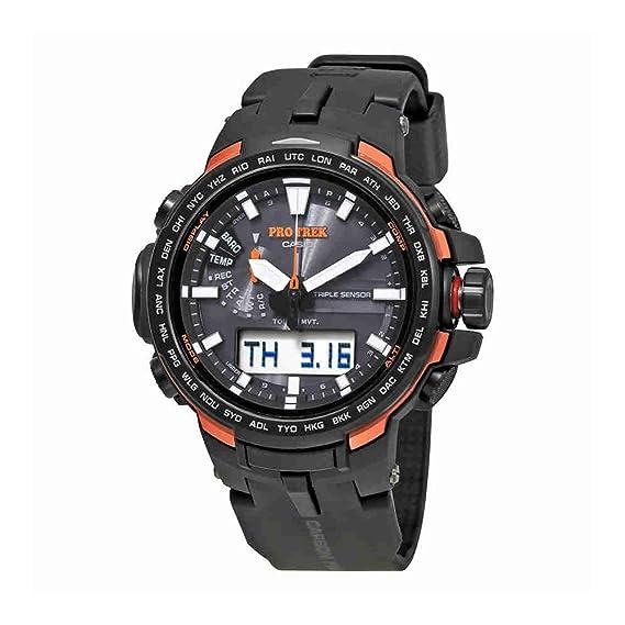 Casio PROTREK Sensor Triple Ver. 3 con Smart Acceso prw-6100y-1dr - Reloj de hombre: Amazon.es: Relojes