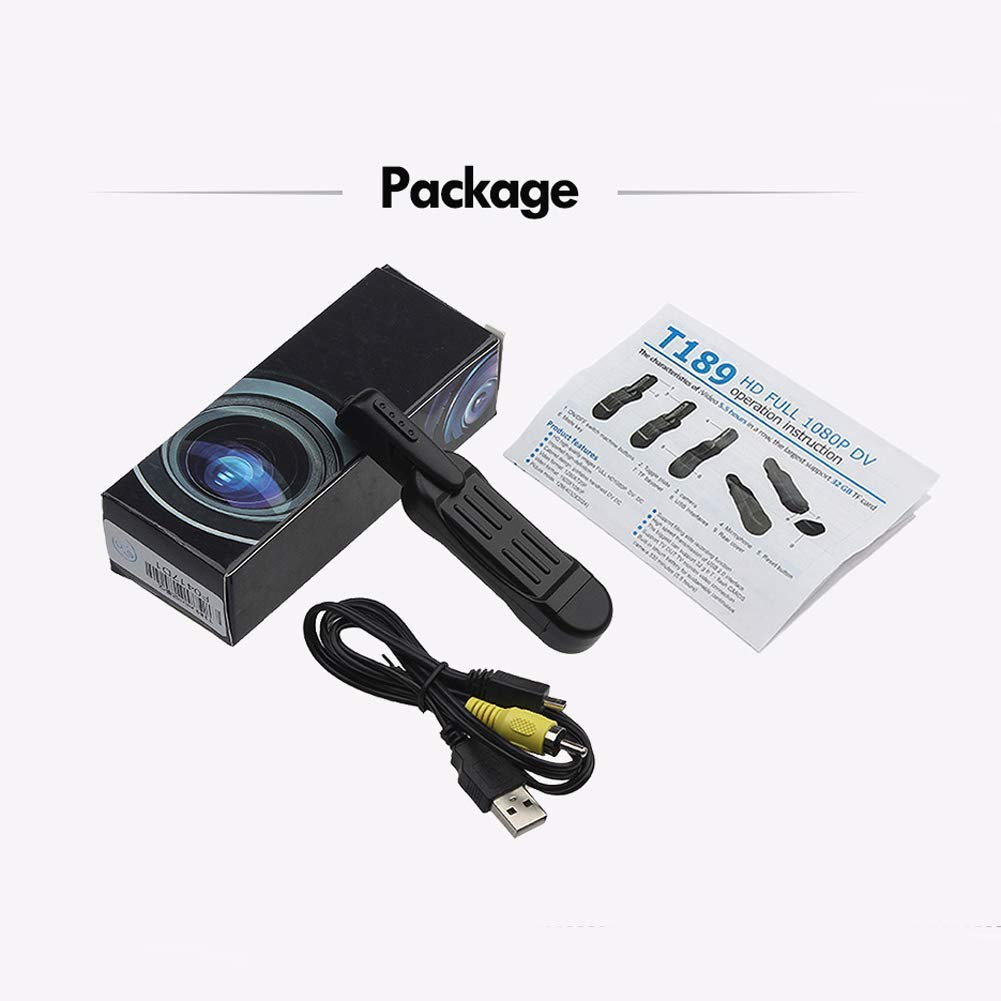 Shadow RecorderMini Camera-Spy Camera-Hidden Camera-Law Enforcement Recorder-Home Surveillance Camera-Nanny Monitor-Work continuously for 3.5 Hours ShenZhen SeeZeus Technology Co Ltd