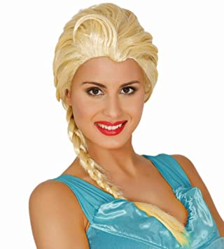 Guirca 4978 - Peluca Princesa Escarchada(Envase Caja)