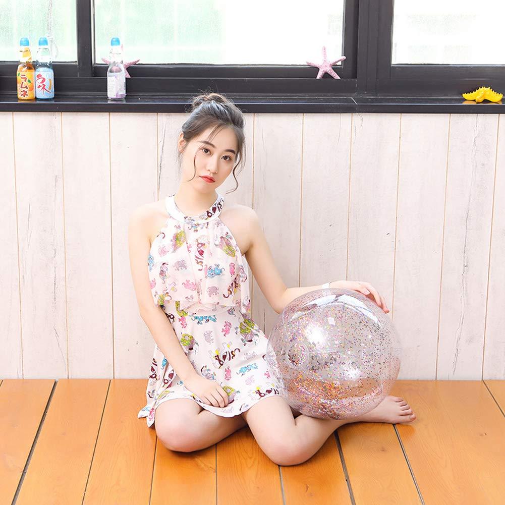 Harddo Aufblasbare Glitter Wasserball Glitter Konfetti Wasserball Transparent Schwimmbad Party Ball f/ür Sommer Strand Wasser Spielen Spielzeug