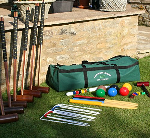 Garden Games LONGWORTH 6 Player Croquet Set