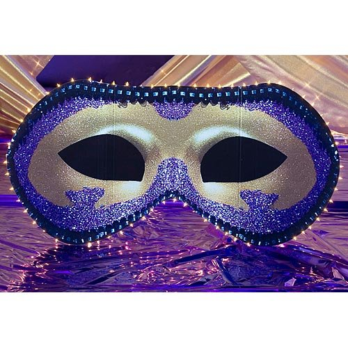 Mardi Gras Mask Party Standee Cutout (Standee Cut Out)