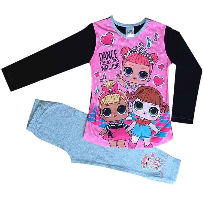 The Pyjama factory - Pijama - para niña Rosa Rosa 4-5 Años