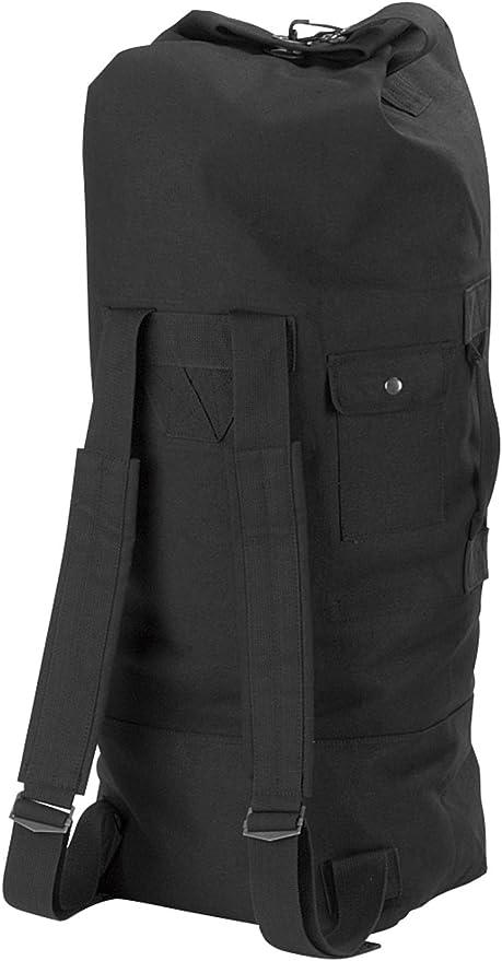 Large Duffle Bag Double Strap Backpack Olive Drab Nylon