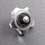 Quick Silver Finger Ratchet Aluminum Handle for 3/8'' Drive Non-Slip Grip Chrome Molybdenum Steel