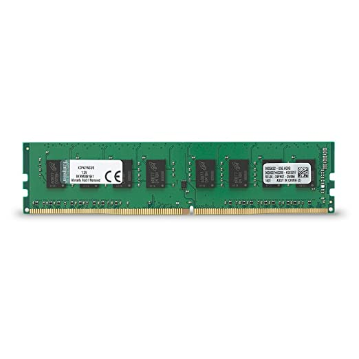 4 opinioni per Kingston KCP421NS8/8 Memoria RAM, DDR4, 2133 MHz, 8 GB, Nero