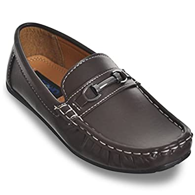 68d047afb46 Josmo Boys Premium Loafer Shoes (12