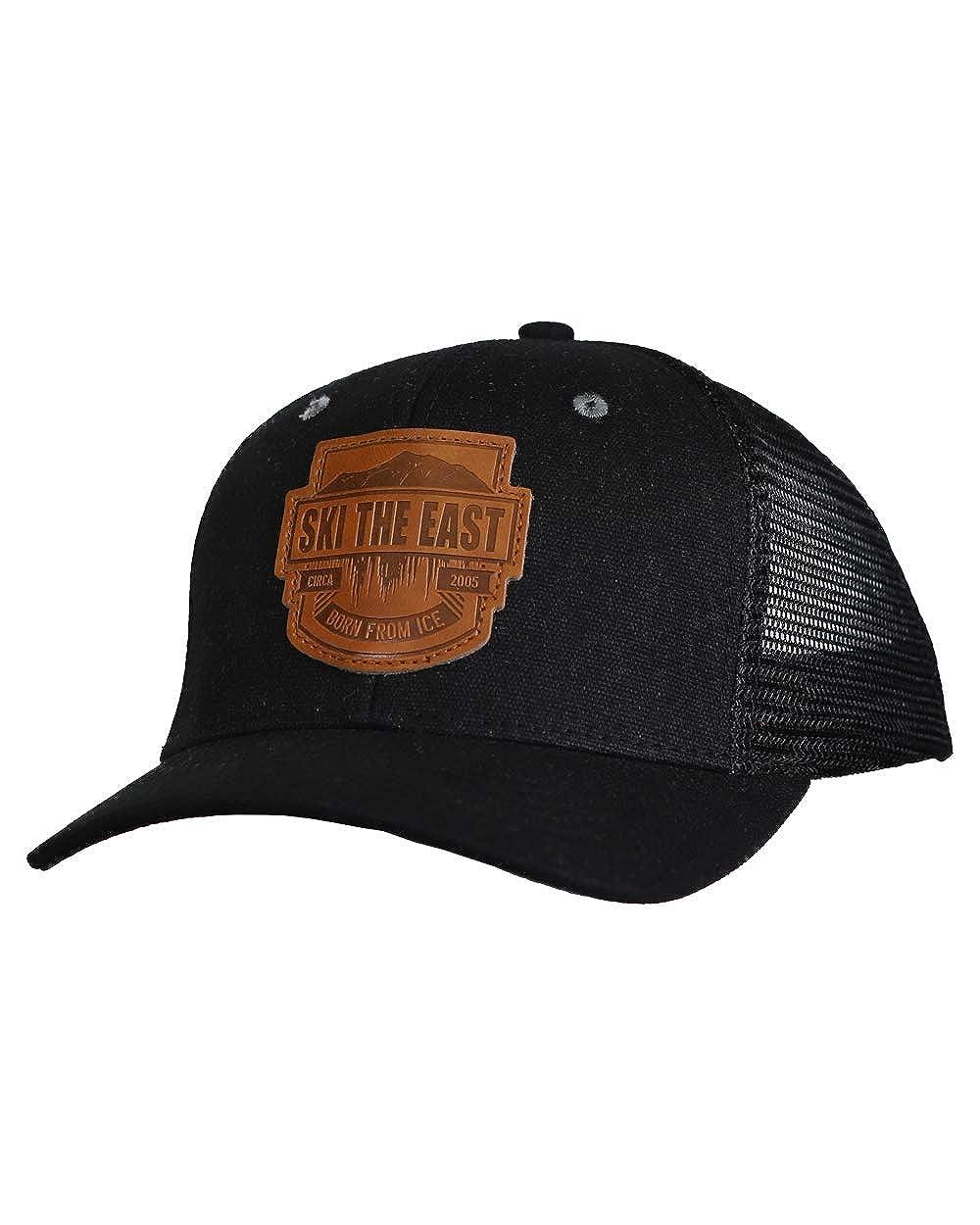 Born from Ice Canvas Trucker Hat Black