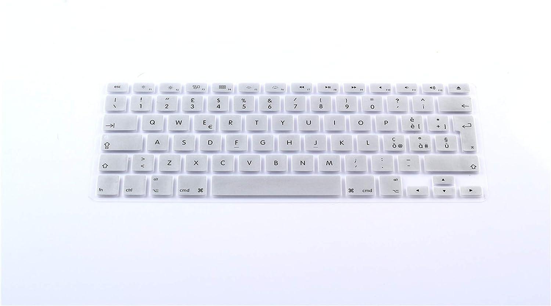 Italian Lingua Italiana Keyboard Cover Protector Skin for MacBook Air 13 Pro 13 15 2015 Silicone Film Sticker EU UK-EU Layout Color1