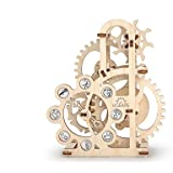 UGEARS Dynamometer - Mechanical Model Construction Kit 3D Wooden Puzzle for Self-Assembly Without Glue - Brainteaser for Kids, Teens and Adults
