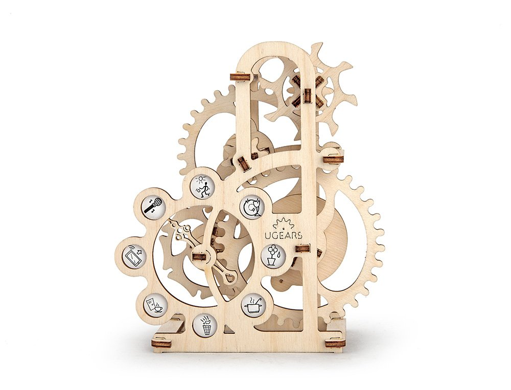 UGears Dynamometer Mechanical Models 3D Wooden Puzzle Mechanical Self Assemble Engineering Toys Ugears 70005