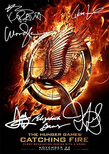 The Hunger Games Catching Fire (11.7 X 8.3) Movie Print Woody Harrelson Jennifer Lawrence Liam Hemsworth Elizabeth Banks Lenny Kravitz Josh Hutcherson