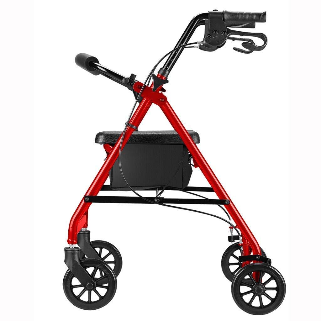 J.SG ancianos/discapacitados 4 ruedas Walker | multi-función de ...