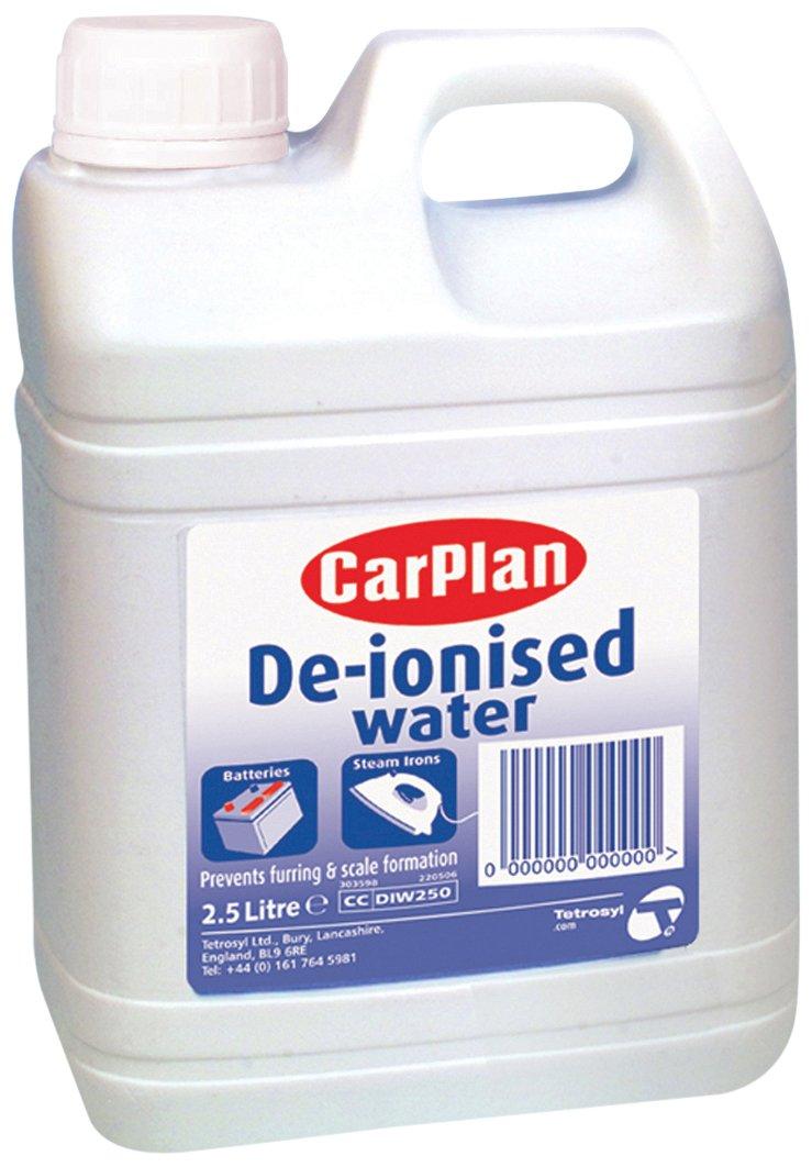 CarPlan DIW250 - Acqua deionizzata Tetrosyl Ltd