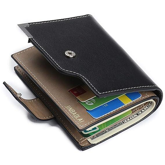 Amazon.com: GOP Store Portmann Klachi Men Wallet Male Purse for Bag Business Card Holder Money Small Walet Cuzdan Vallet Kashelek Portomonee Partmone: ...