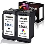 Inktopia 1 set Remanufactured Ink Cartridges Replacement For Canon PG-245XL CL-246XL 245 XL 246 XL Ink Cartridges Combo Pack