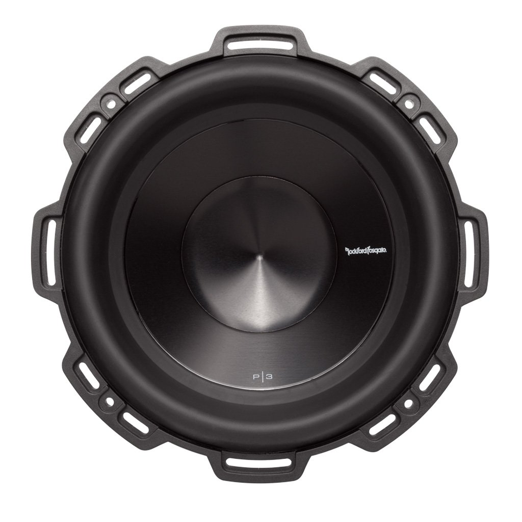 Amazon.com: Rockford Fosgate P3D4-10 Punch P3 DVC 4-Ohm 10-Inch 500 ...