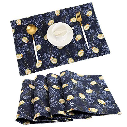 TEWENE Placemats, Washable Placemats for Dining Table