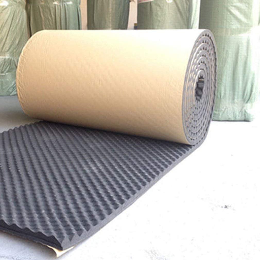 100 x 100 cm - Alfombrilla aislante de algodón que amortigua el ruido acústico amortiguación de espuma para altavoz de graves para KTV, estudio de grabación: Amazon.es: Instrumentos musicales
