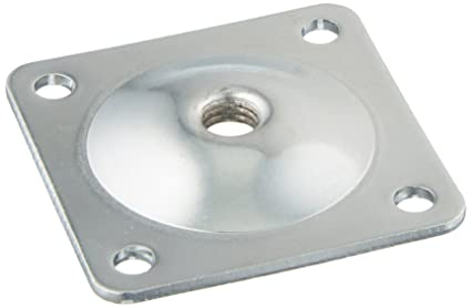 Pandora Hardware Furniture Leg Attachment Plates 5/16  In, Heavy Duty Top  Plate