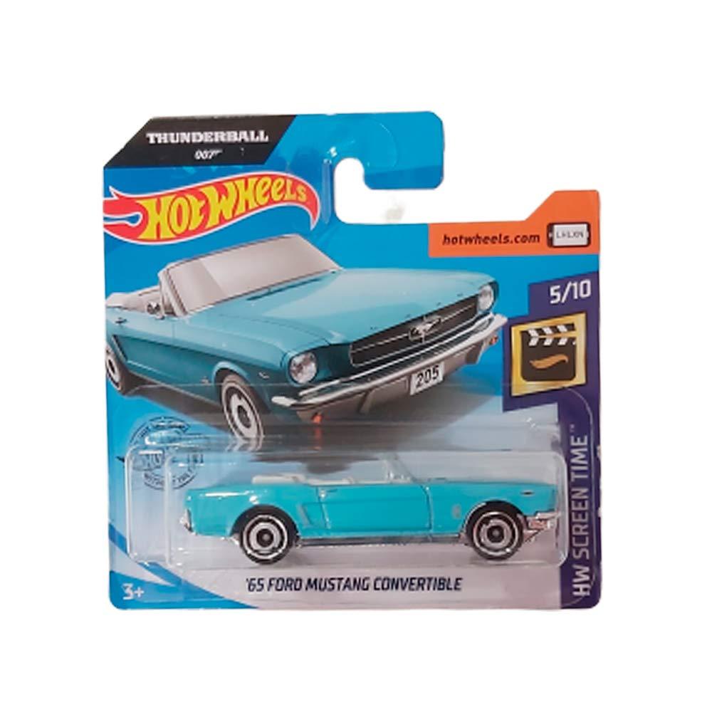 Hot Wheels Thunderball 007 /'65 Ford Mustang Convertible HW Screen Time