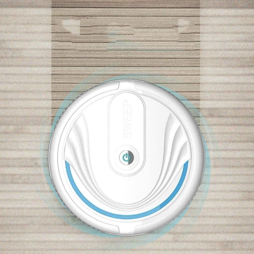 GSWF_OOEFC Robot de Balayage Intelligent GENERICS Jouet de Balayage Automatique à Rotation par Induction-Blanc Blanc