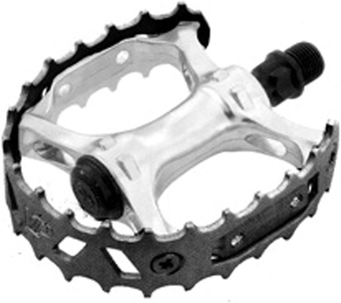 "VP XC II Beartrap Type Pedals 9//16 /"" ALLOY BLACK 9//16"
