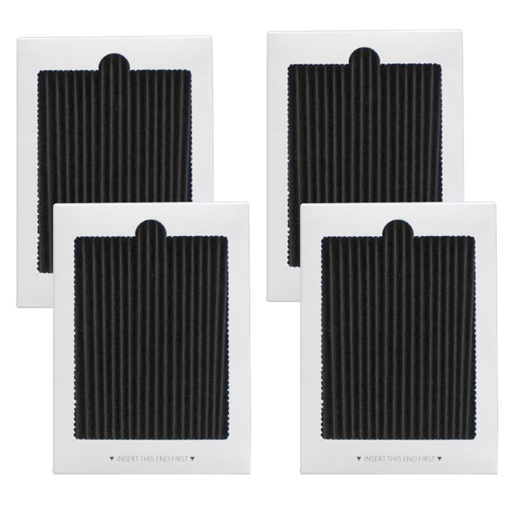 4 Pack Refrigerator Air Filter Replacement - Fits for Frigidaire PureAir Ultra, PAULTRA, SCPUREAIR2PK & Electrolux EAFCBF 242061001,241754001