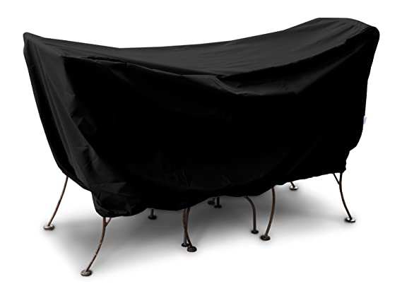 KOVERROOS Weathermax 71540 3-Piece Cafe Set Cover, 60-Inch Length by 30-Inch Width by 30-Inch Height, Black