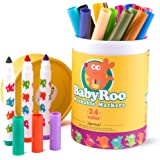 Jar Melo Washable Markers Set; Non-Toxic; 24 Colors; Art Tools