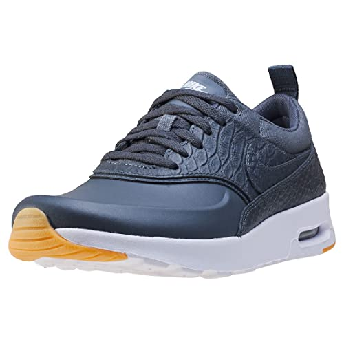 Nike Bruin Mid Mens Gray Faux Suede Sneakers Shoes New/Display UK 3.5