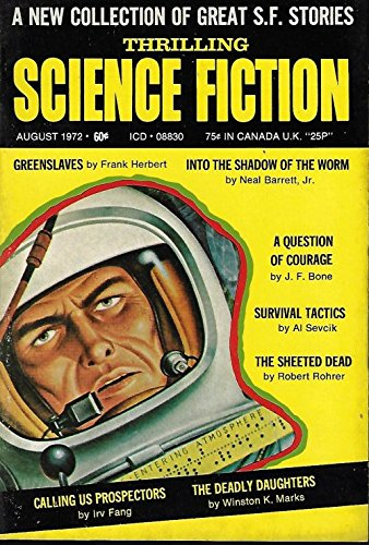 THRILLING SCIENCE FICTION: August, Aug. 1972