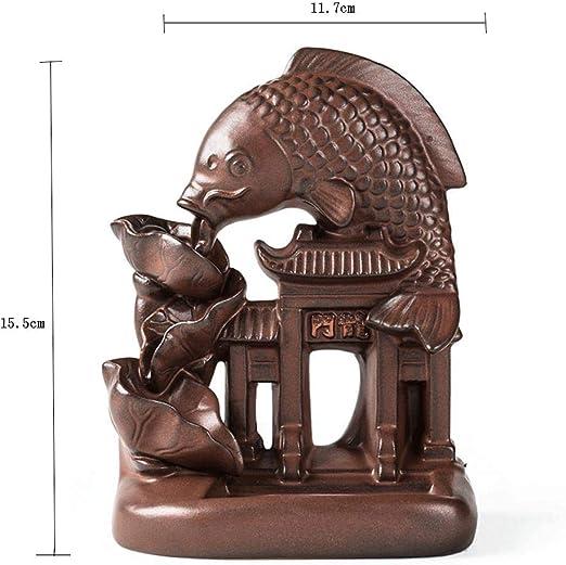 Estufa de aromaterapia individual Peces de cerámica Salto Pórtico ...