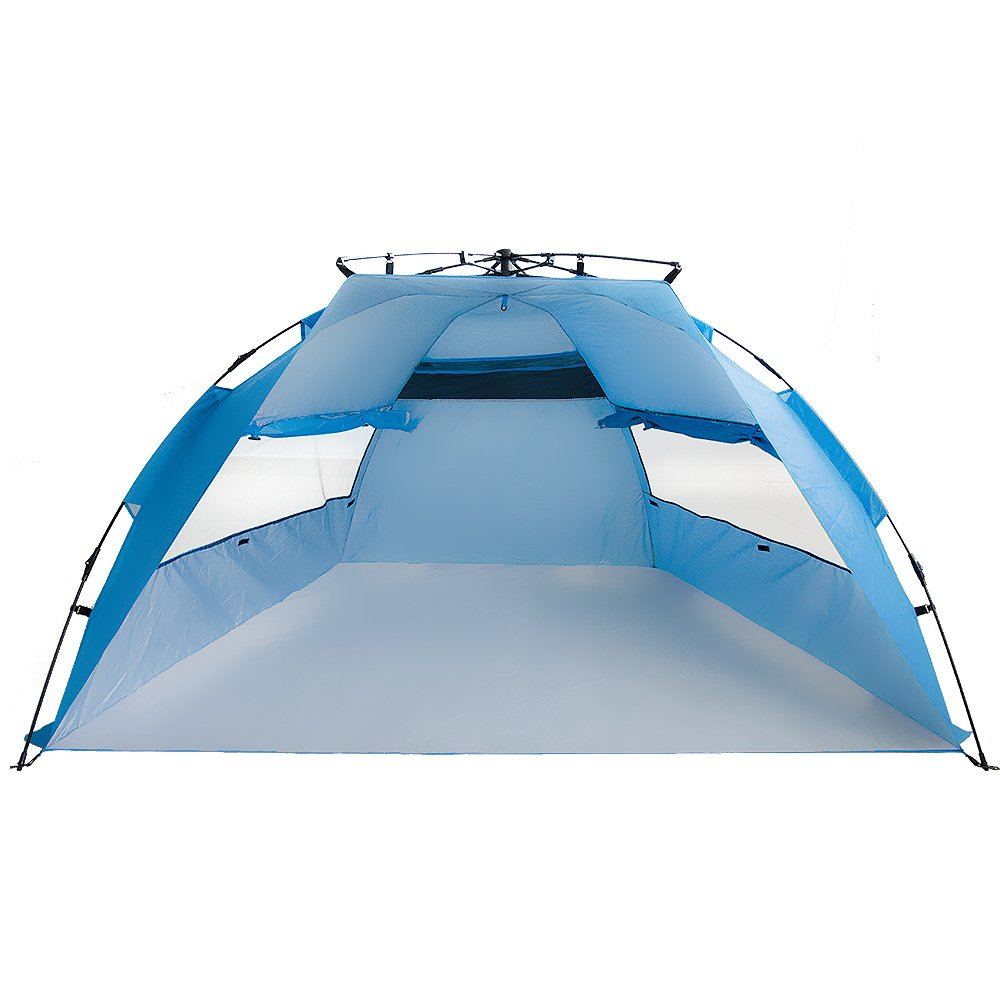 Amazon.com AKABELA Outdoors Pop Up Sport Shelter Beach Tent.Instant Easy Up Beach Umbrella Tent with Stakes and Carrying Bag.2 Person C&ing Fishing ...  sc 1 st  Amazon.com & Amazon.com: AKABELA Outdoors Pop Up Sport Shelter Beach Tent ...